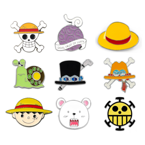 Collection Pin's One Piece