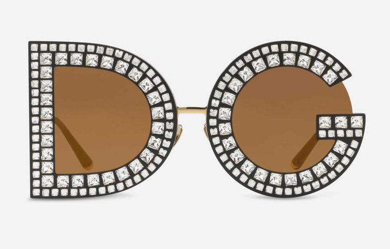 Seen and Worn: Dolce and Gabbana Logo Sunglasses