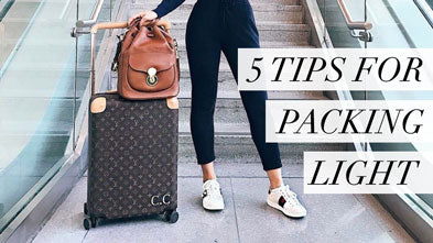 5 Tips for Packing Light for A Summer Vacation
