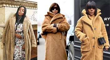 Winter Fashion Trend: Teddy Coats