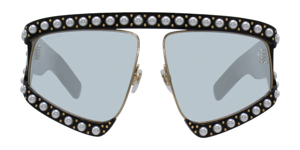 c4b13d60630 Gucci Acetate Pearl Sunglasses GG0234S. These Oversize Pearl-Embellished ...