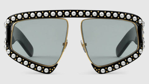 Gucci Pearl Acetate Sunglasses
