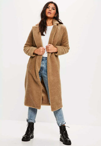 Missguided Teddy Coat