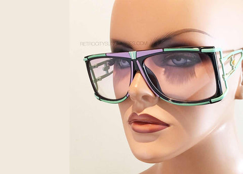 730 Vintage Sunglasses in Green