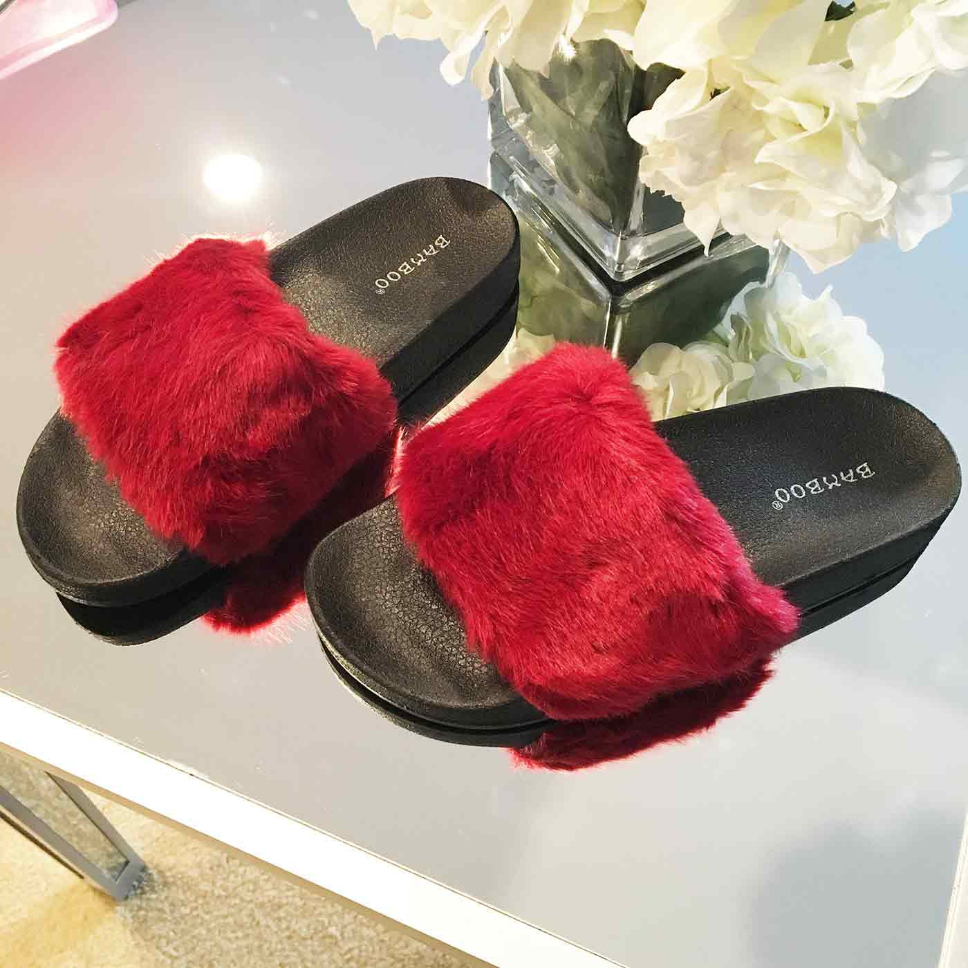 Lush Slides in Oxblood