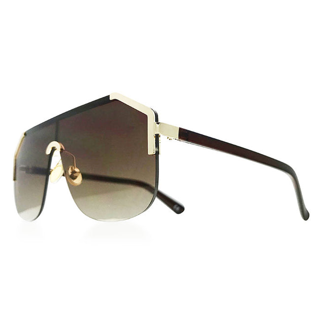 Dolce Aviators in Brown