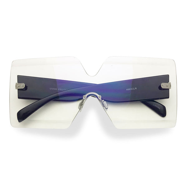 Nine 30 Rimless Glasses (more colors)