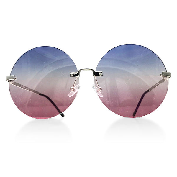 Round Ombre Sunglasses (more colors)
