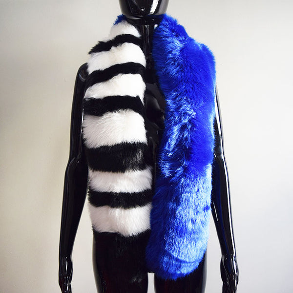 Couture Scarf in Blue