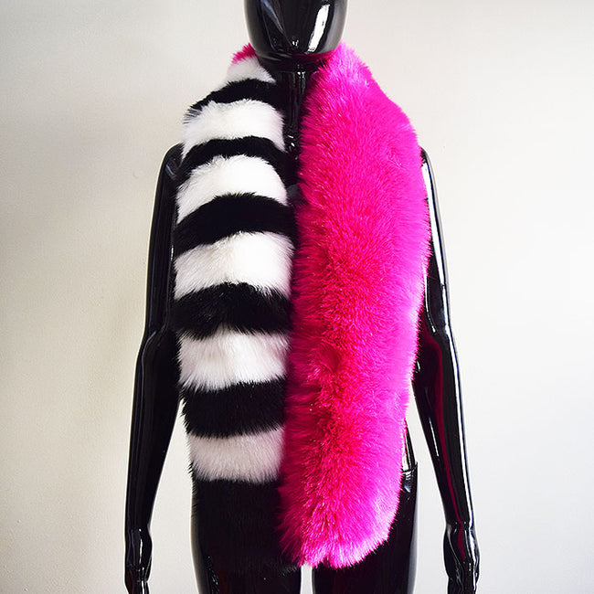Couture Scarf in Hot Pink