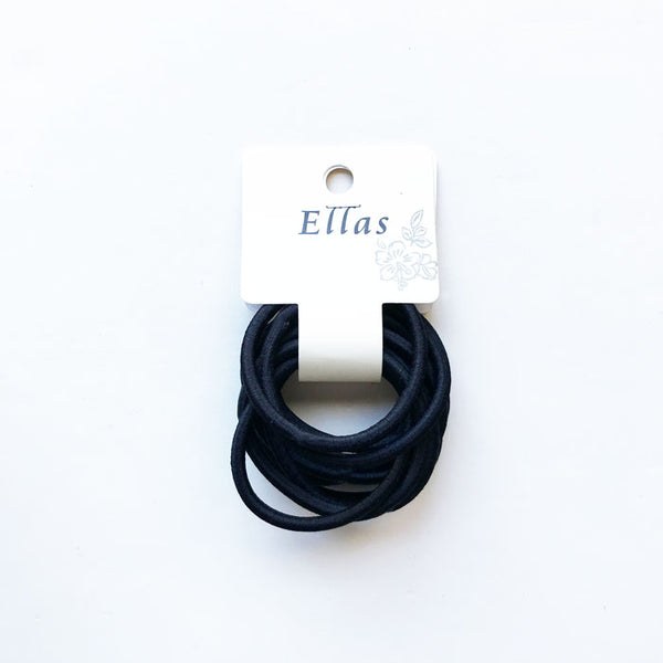 Small Elastic Hair Bands (12 pcs)