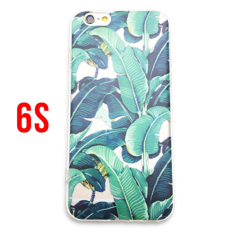 Palm Leaves iPhone Case (FOR 6S)