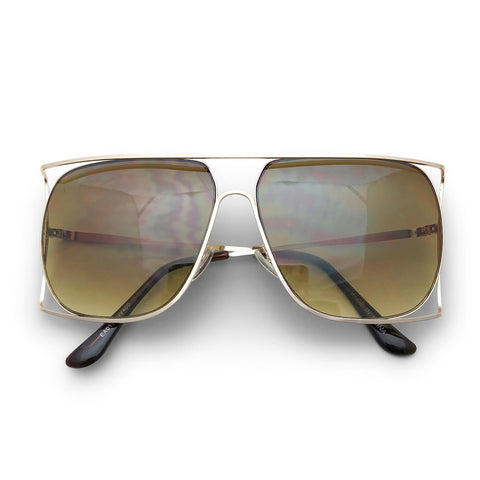 Exos Sunglasses in Brown