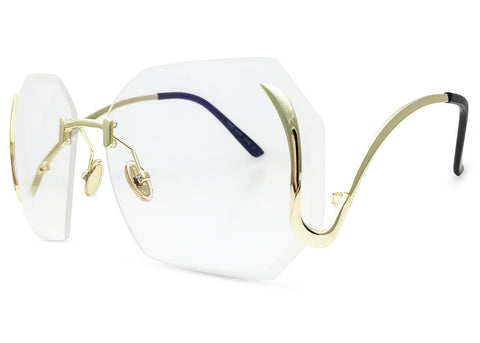 Gloria Rimless Glasses