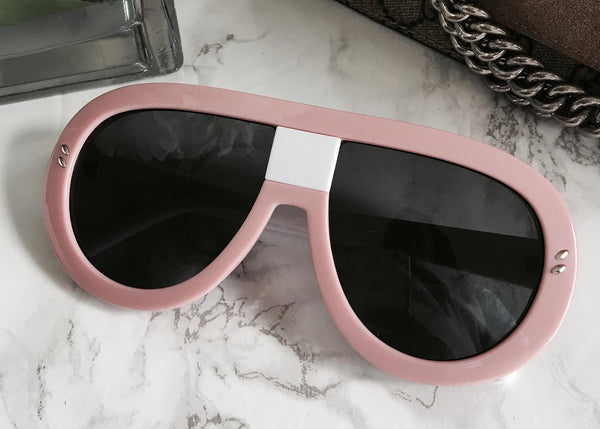 Lulu Aviators in Blush