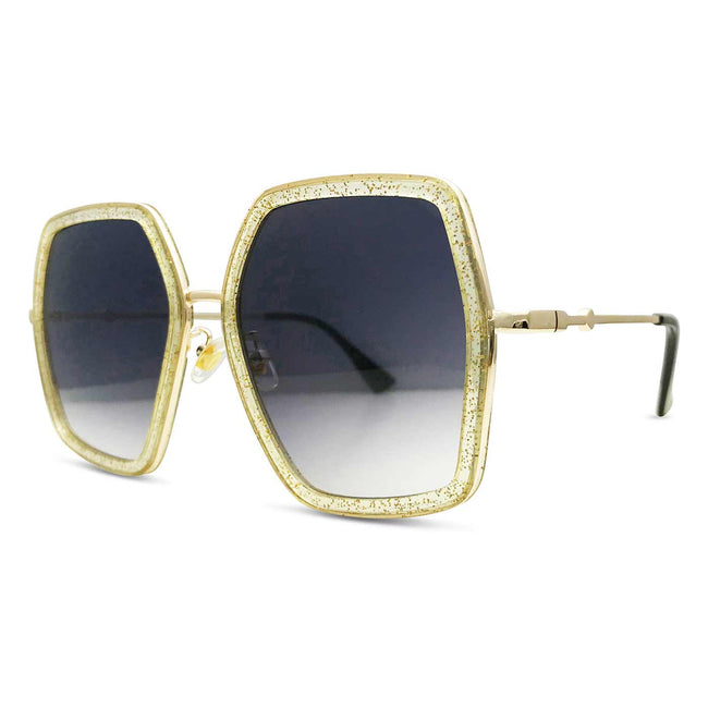 Modal Square Sunglasses in Glittery