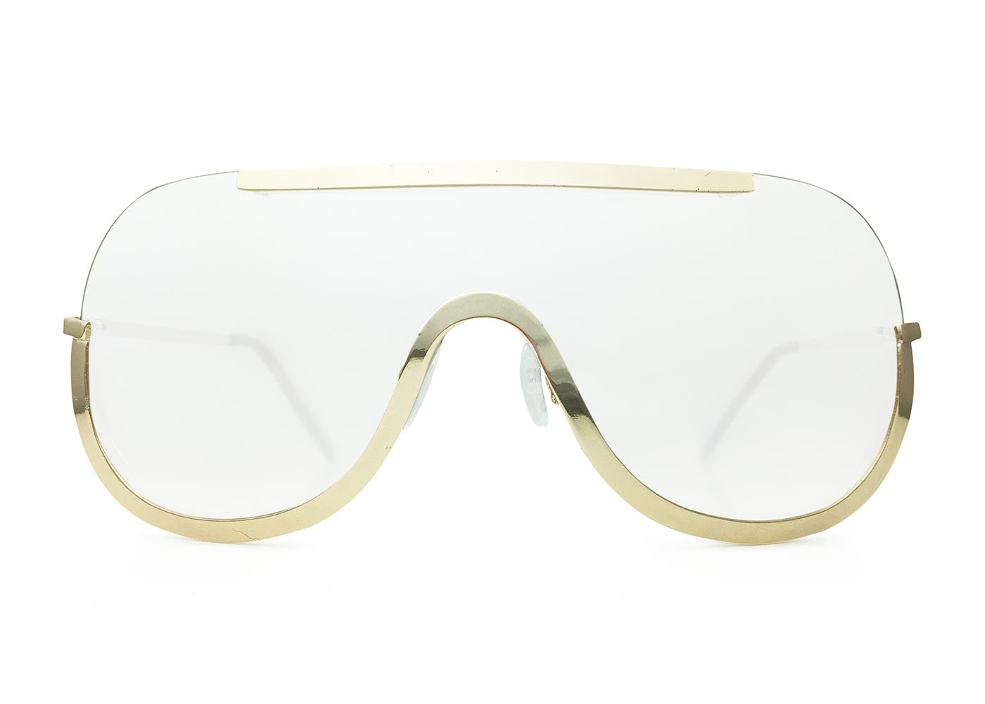 Semi Rimless Shields in Clear