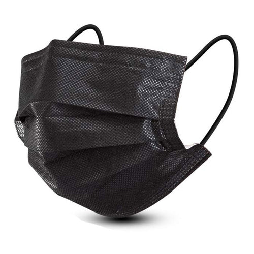 Black Surgical Face Mask