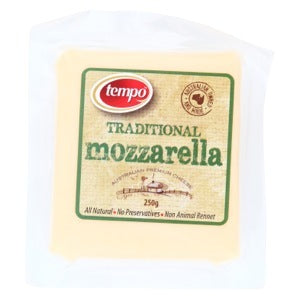 Tempo Mozzarella Cheese 250g