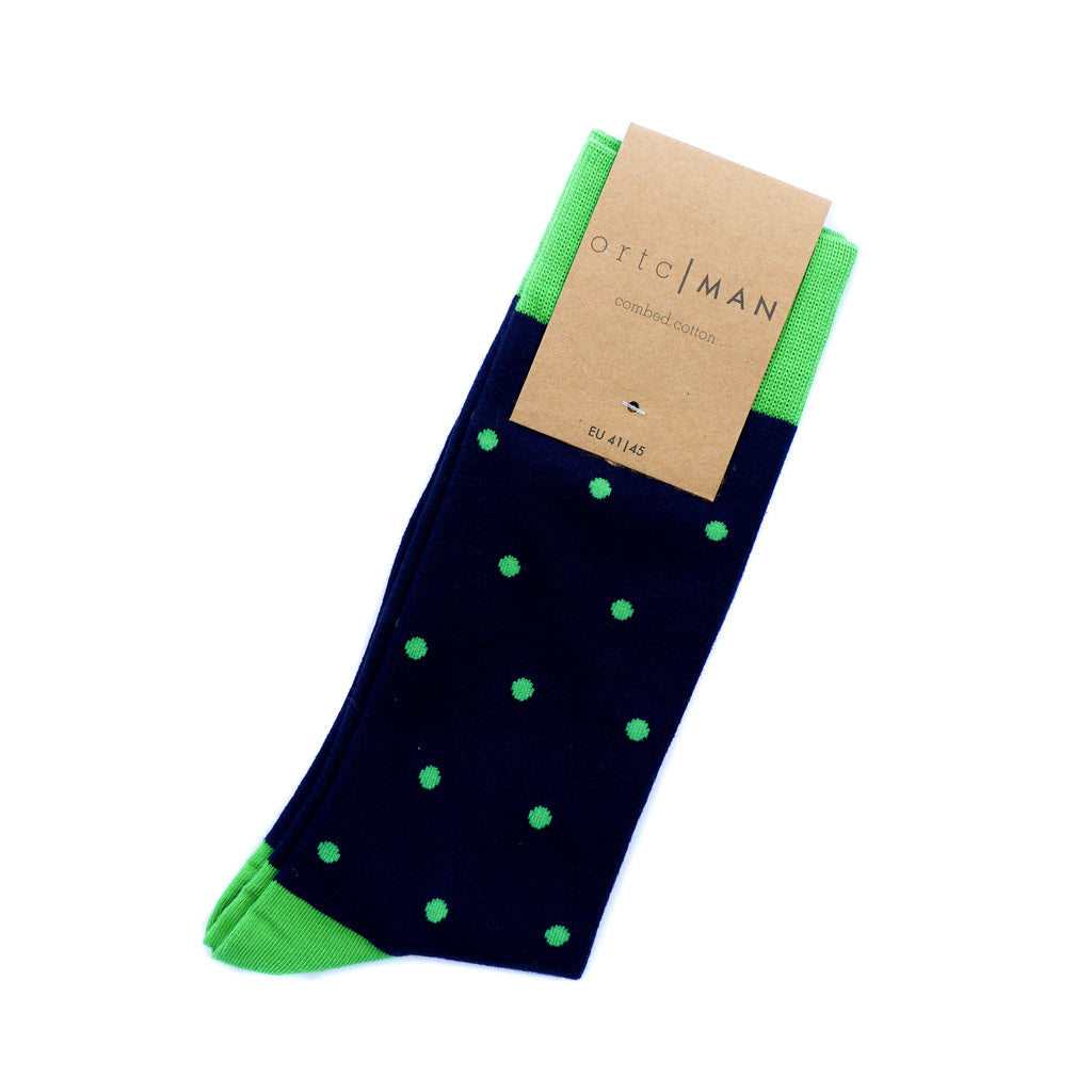 Green Dot Socks - Mankind Co.