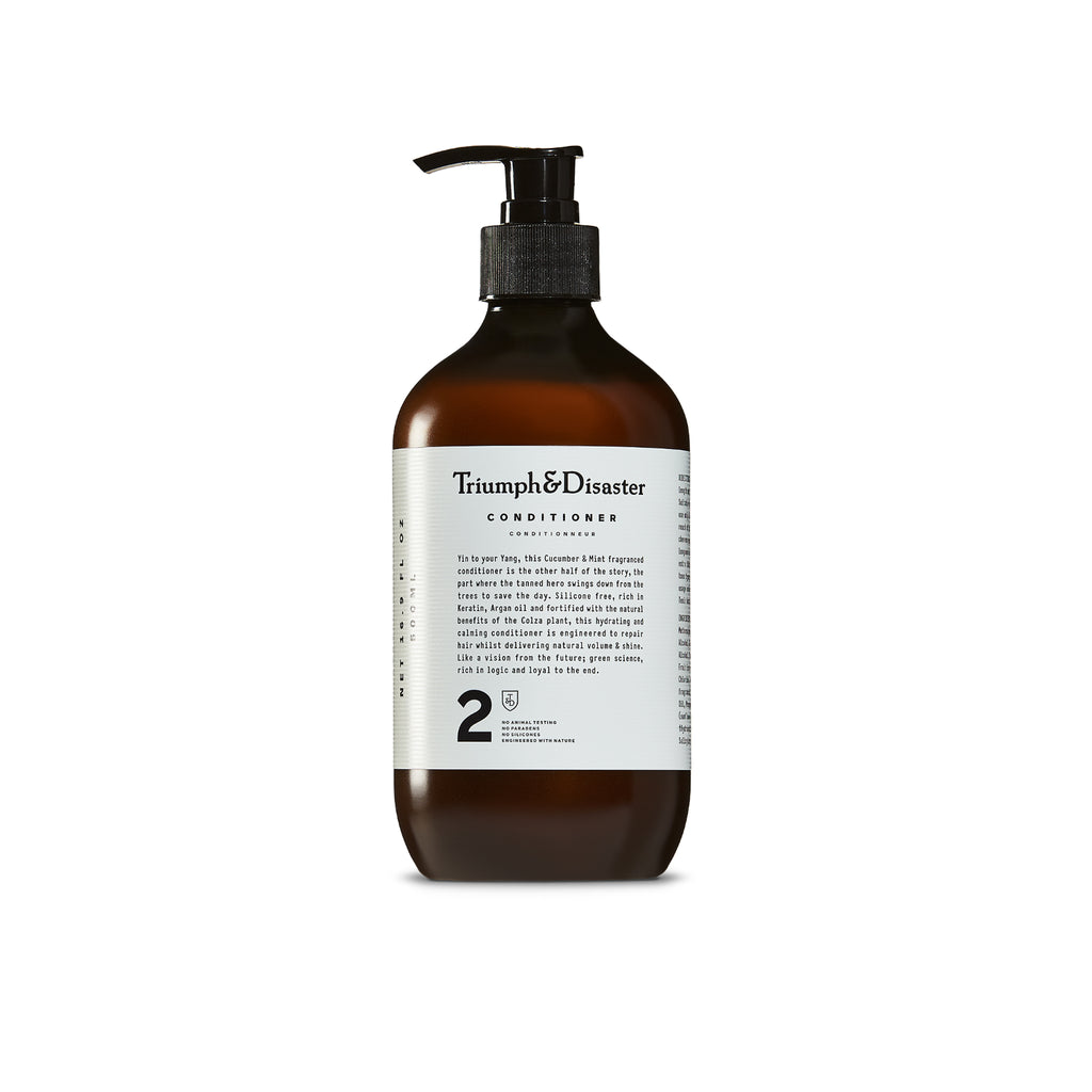 Natural Mint and Cucumber Conditioner (300mL) - Mankind Co.