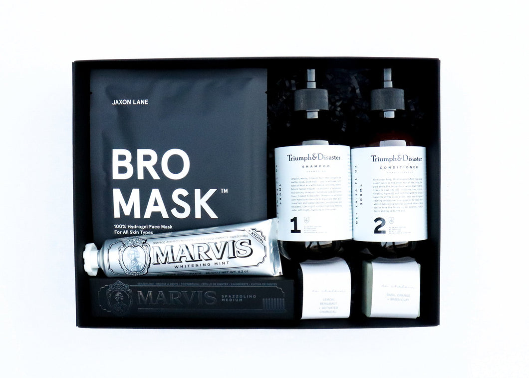 Pamper Man Mens Gift Ideas