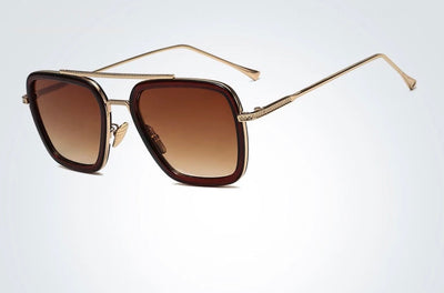 Sunglasses Brown tent