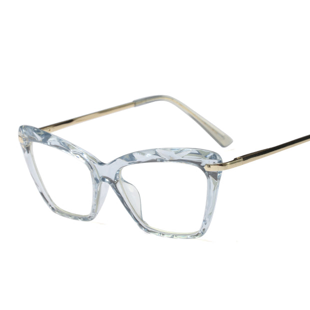 Crystals Transparent Eyeglasses