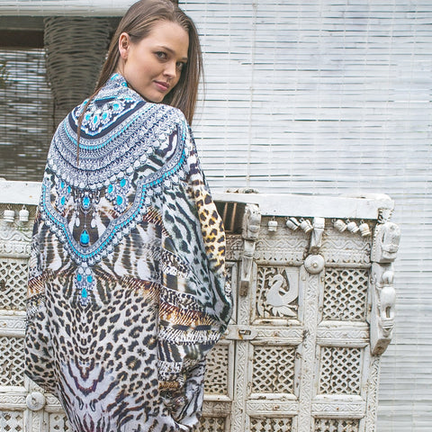 Tempting Tigress Cape - www.LUXEISLE.com