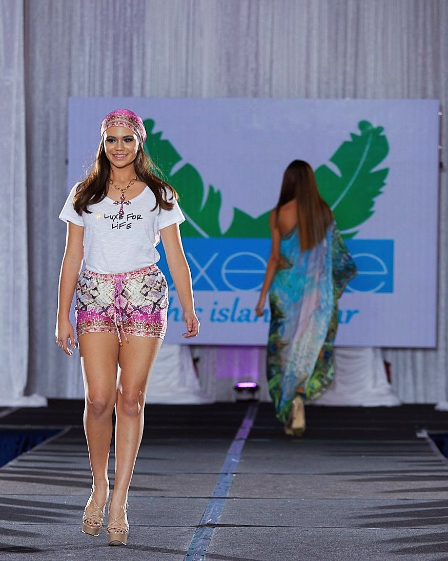 Pinky Python Shorts & Scarf Top Collection - SALE - www.LUXEISLE.com