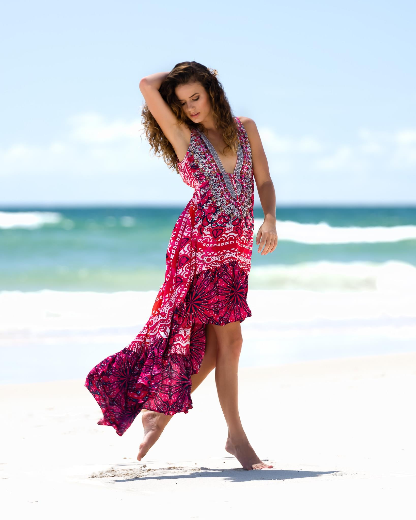 Spicy Salsa Dress - www.LUXEISLE.com