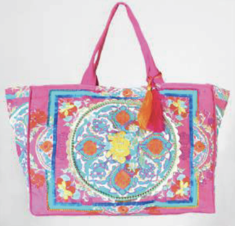 Candy Crush Boho Tote