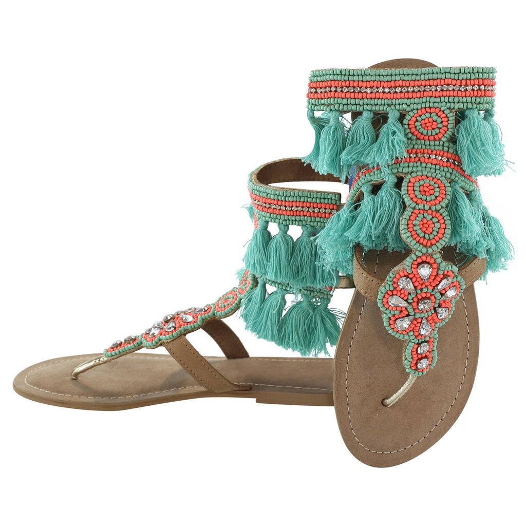 Bermuda Gladiator Sandals