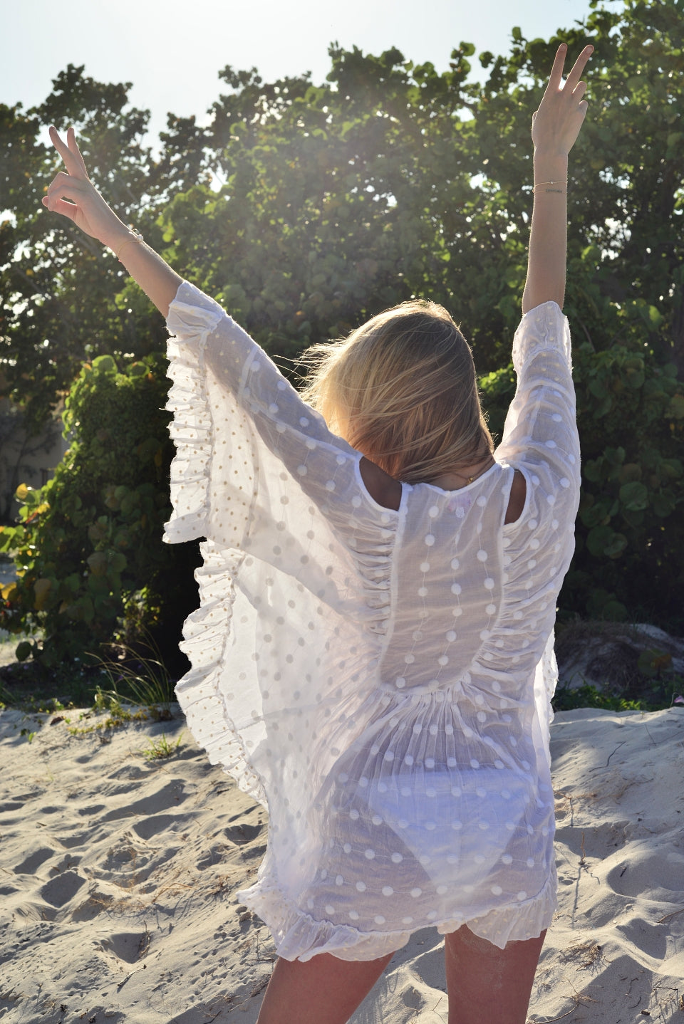 Angel Wing Babydoll Tunic