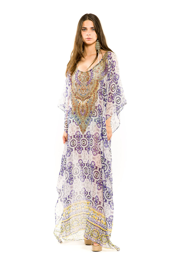 Seville Glam Maxi & Butterfly Dress - SALE - www.LUXEISLE.com