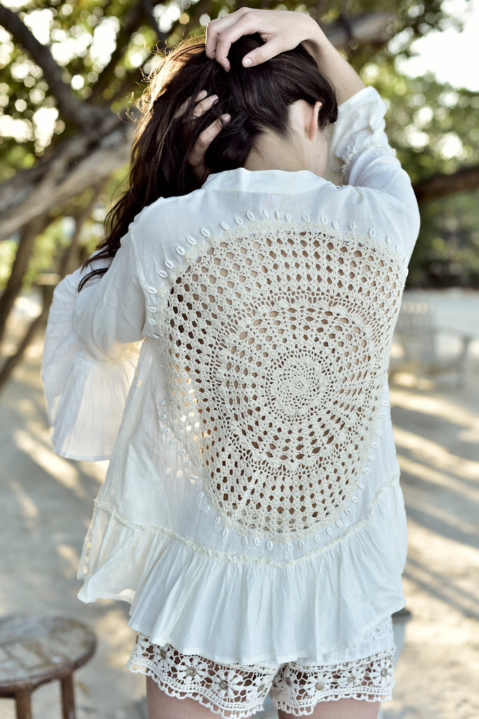 Crochet Medallion Top
