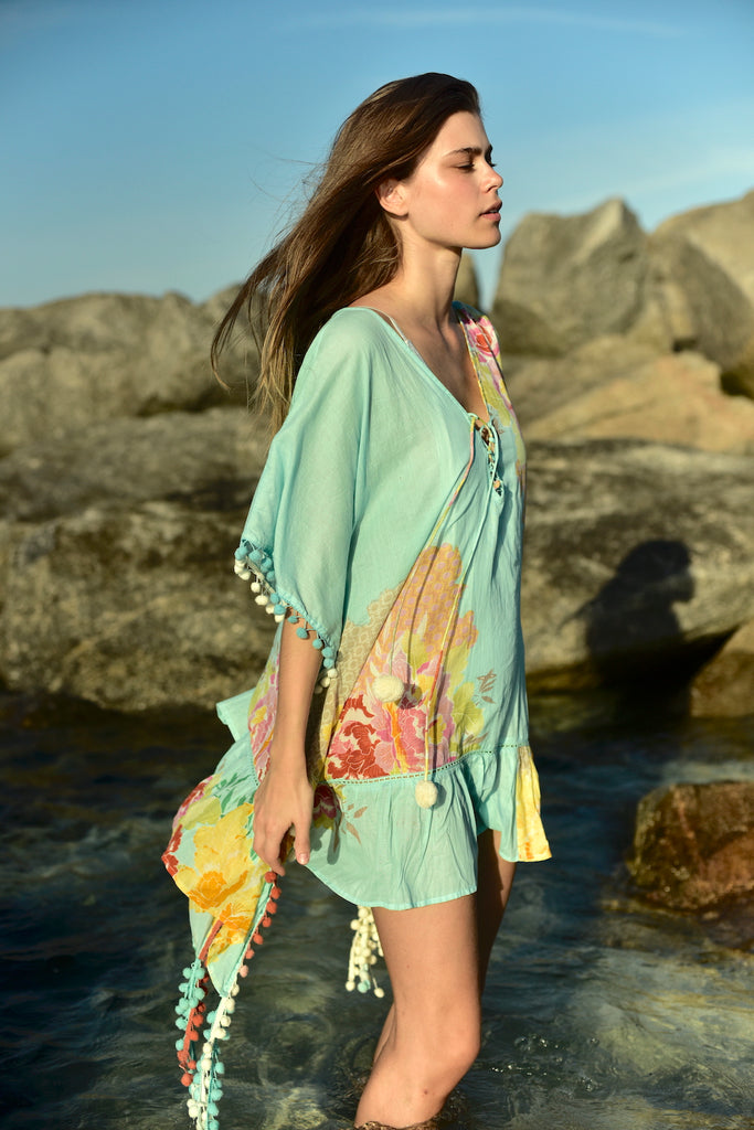 AQUA Floral Boho Collection
