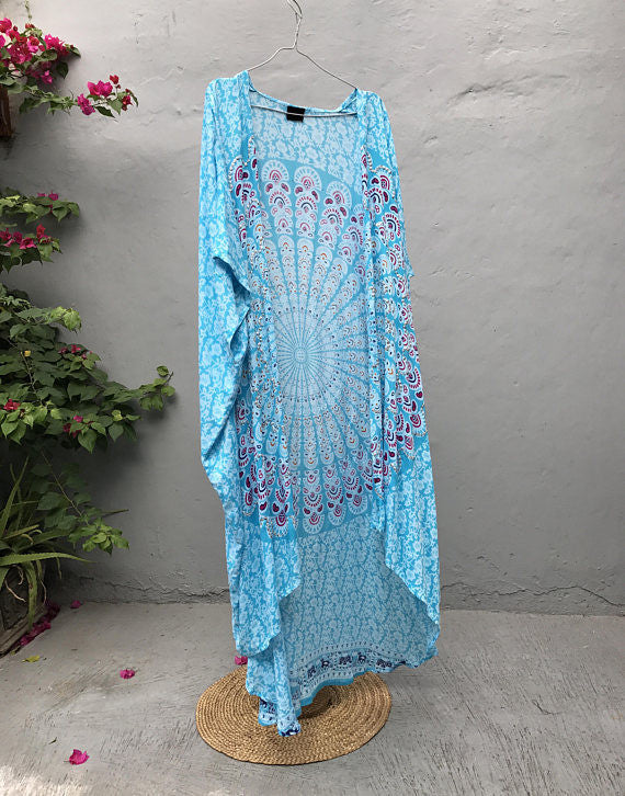Turquoise Sparkling Robe