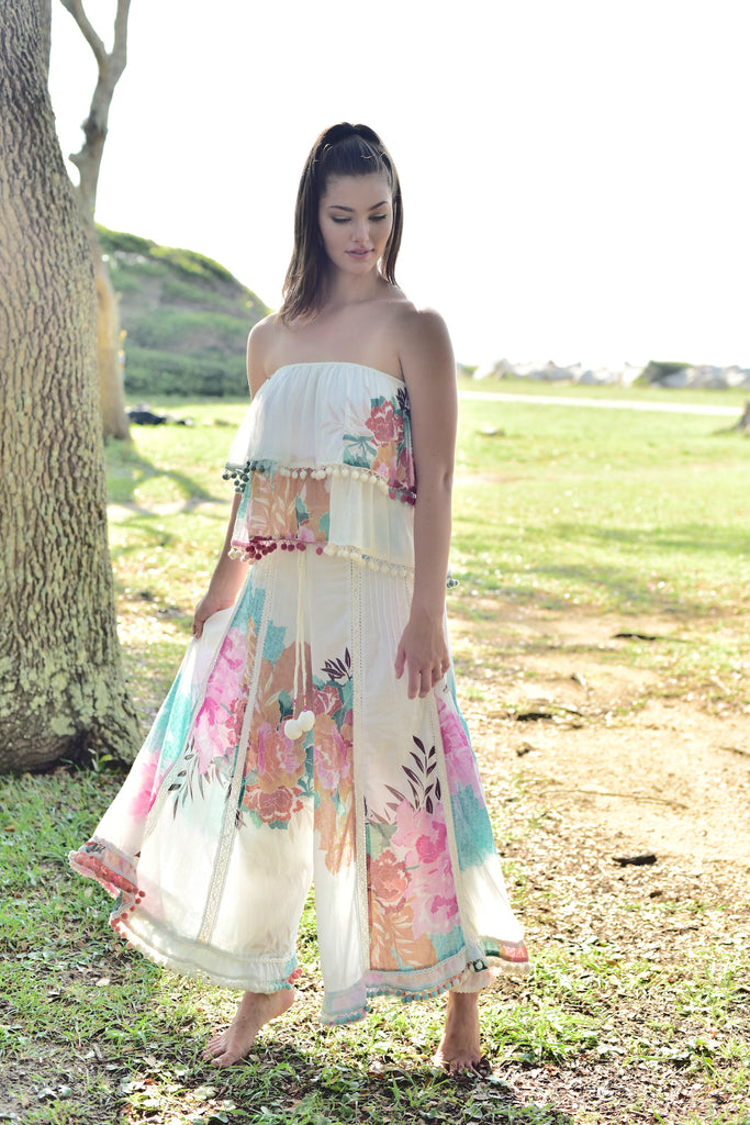 IVORY Floral Boho Collection