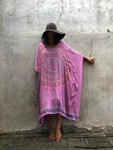 Electric Daisy Medallion Kaftan