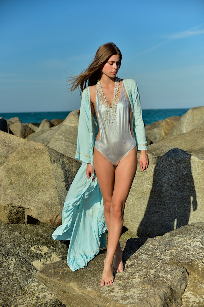 Silver Siren Swimsuit
