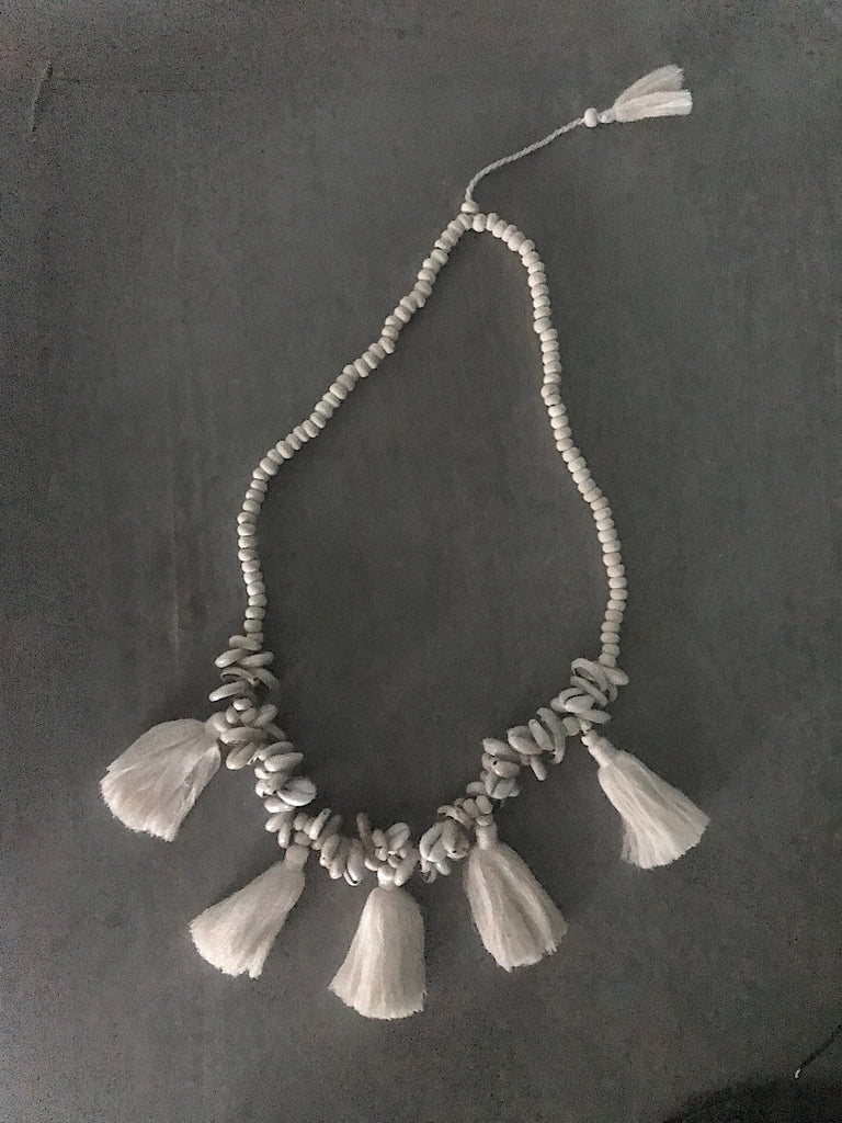 TOLEDO tassels necklace