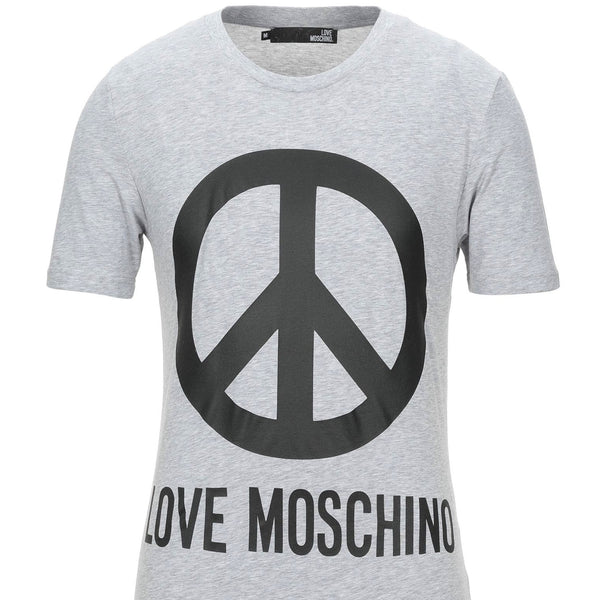Moschino: Men's Peace Logo T-shirt