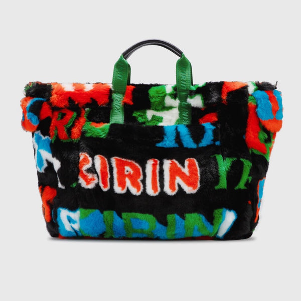 Kirin: Big Typo Fur Bag