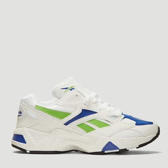 Reebok: Aztrek 96 Sneakers in White