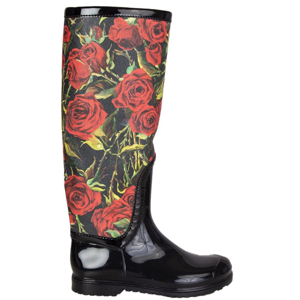 Dolce & Gabbana: Rose Rain Boots (Wellies)