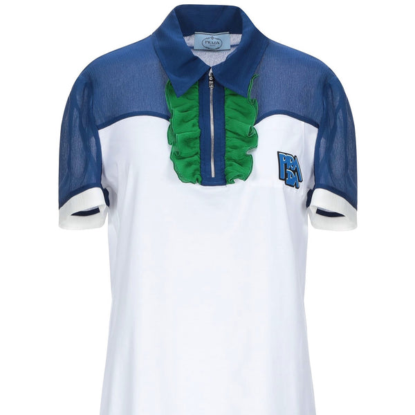 Prada: Logo Polo Shirt