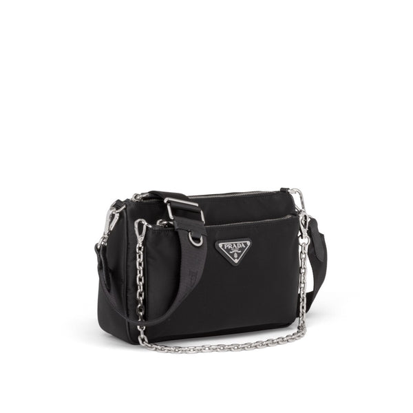 Prada: Nylon Shoulder Bag