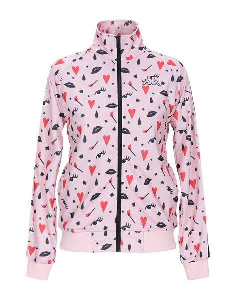 Kappa: Pink Fancy Banda 222 Track Jacket