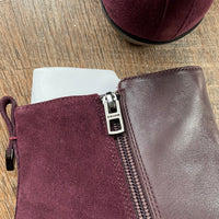 Coach: Carmen Bootie (Warm Oxblood)